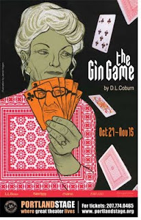 Jamie Hogan, Theatre Posters, The Gin Game