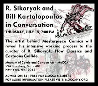 R. Sikoryak, Exhibition,