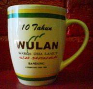 Coffee MUGS Saufenir wulan
