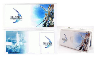NDS Lite Console Sticker (Final Fantasy)