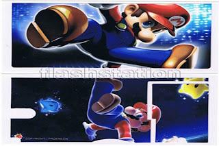 NDS Lite Skin Sticker (Mario)