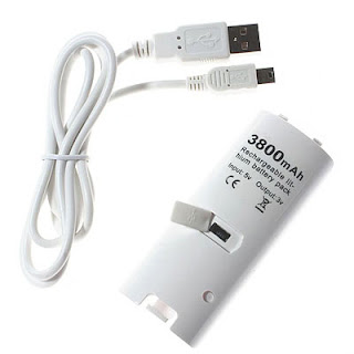 buy Wii Rechargeable Battery Pack 3800mAh