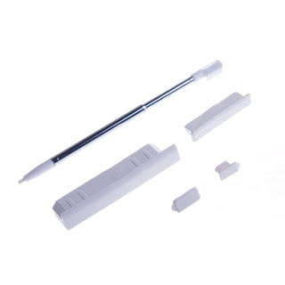 Retractable Stylus and Rubber Plugs for NDS Lite