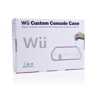 Replacement Customize Console Case for Wii