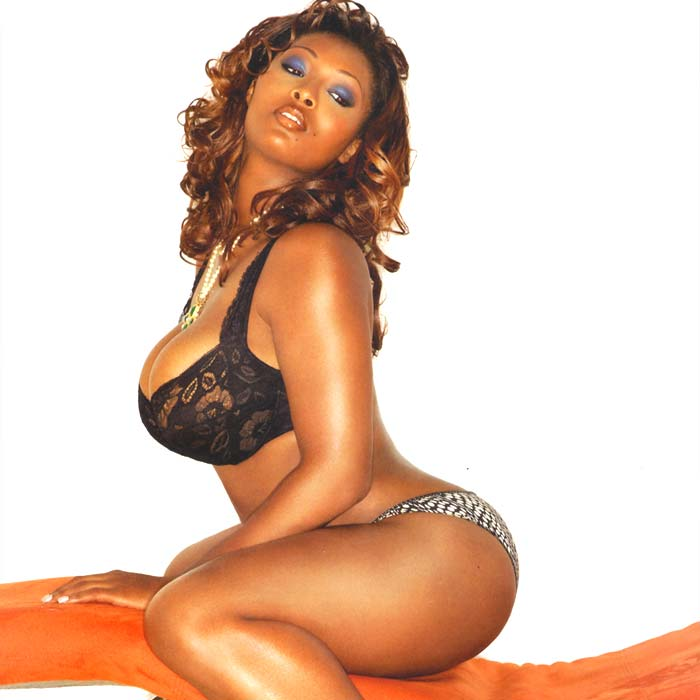 Toccara shows thick women can be sexy!