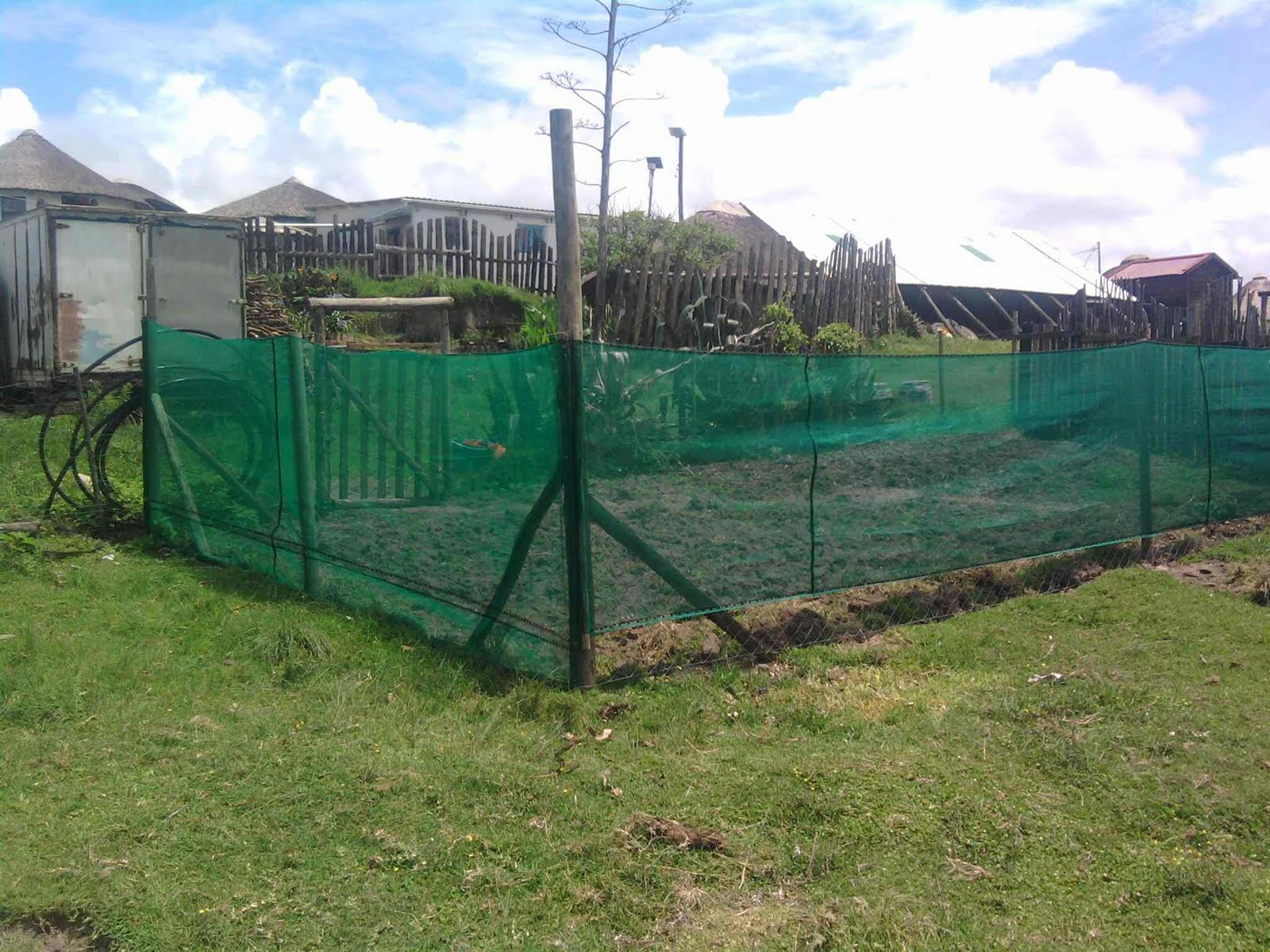 Mdumbi Permaculture Project New fence for Childrens Garden and