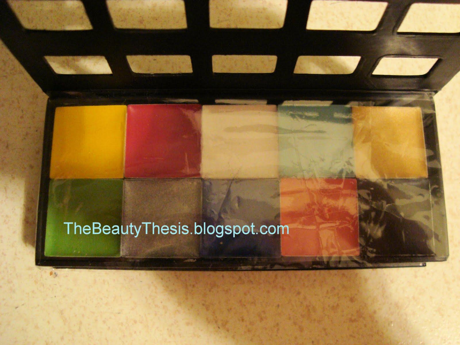 Makeup forever flash palette