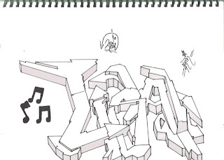 graffiti sketches,graffiti 2d art