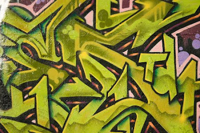 graffiti yellow