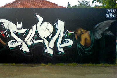 graffiti wall,graffiti rip