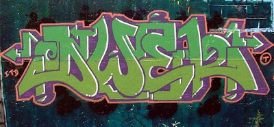 graffiti green,graffiti alphabet