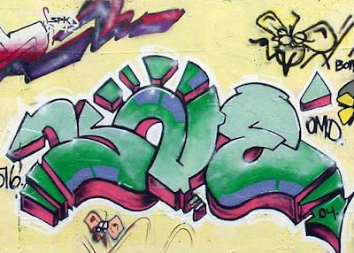 green graffiti,graffiti murals
