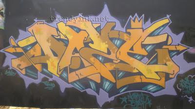 graffiti alphabet DAZE