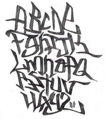 new graffiti alphabet murals 2010 new season
