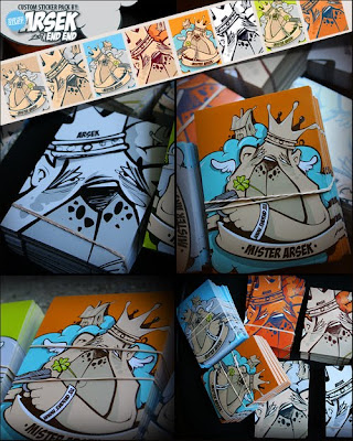 graffiti sticker art