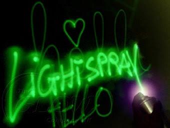 Glow graffiti image