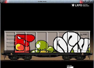Train graffiti,graffiti bombing