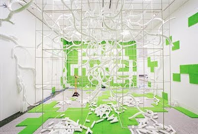 graffiti 3d,green graffiti