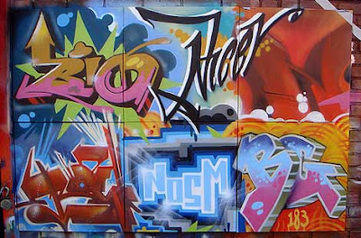 graffiti canvas,tats cru
