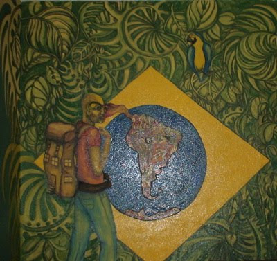 flag graffiti, graffiti brazil
