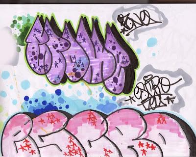 graffiti sketches, graffiti