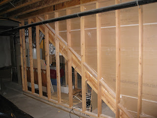 Cracks and floating walls creating a basement for How to build floating walls in basement