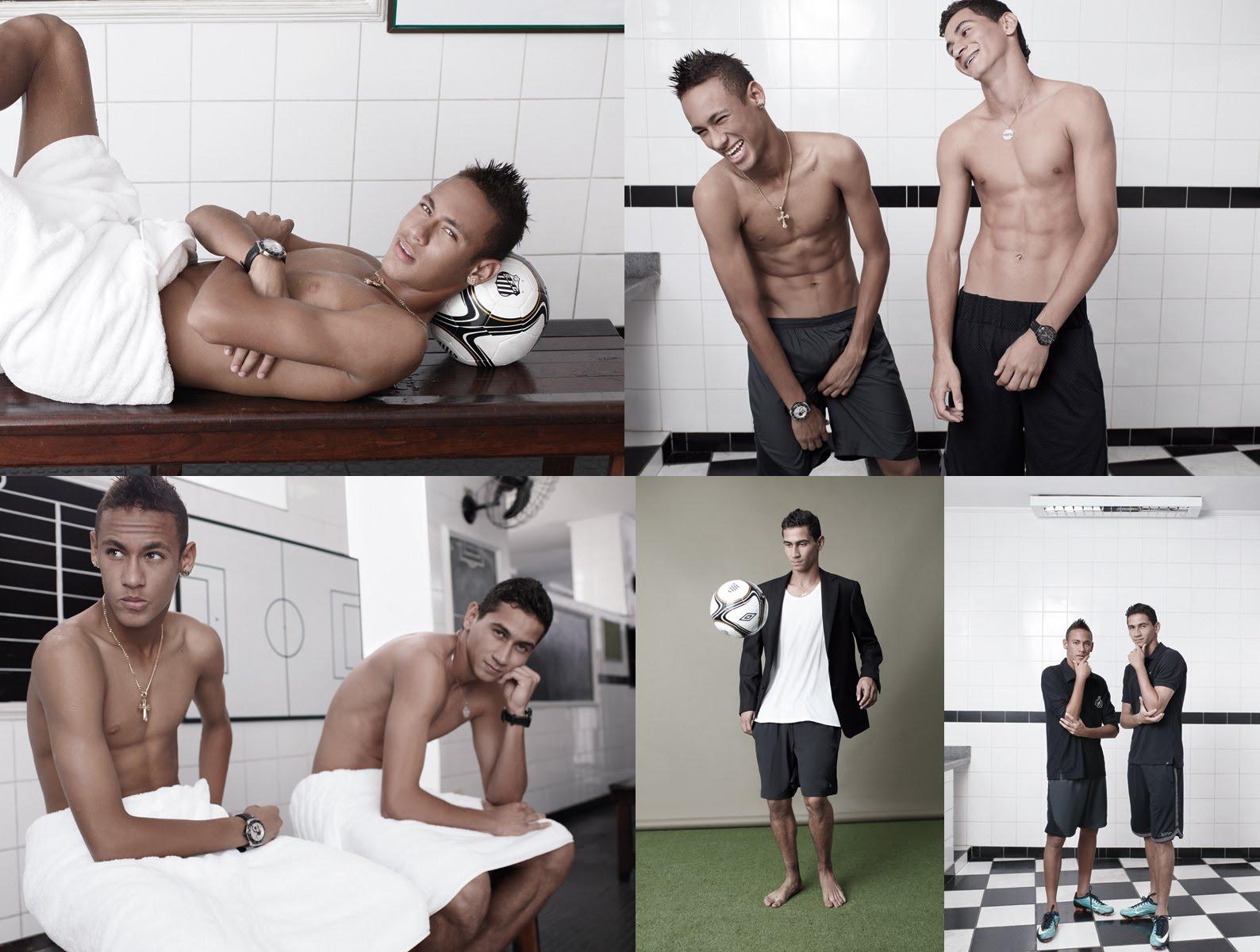 Junho Da RG Vogue Entra Em Clima De Copa E Traz A Dupla Neymar E Ganso