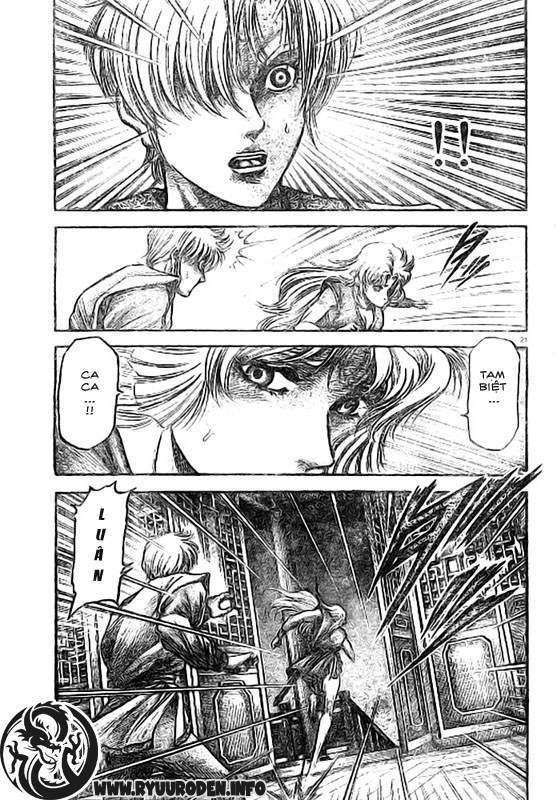 Chú bé rồng-Ryuuroden chap 186 Trang 22 - Mangak.info