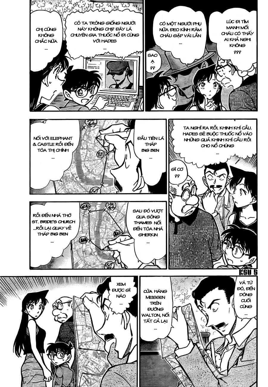 Detective Conan - Thám Tử Lừng Danh Conan chap 748 page 6 - IZTruyenTranh.com