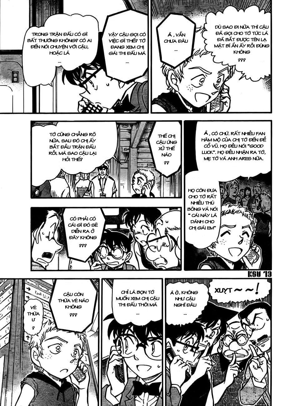 Detective Conan - Thám Tử Lừng Danh Conan chap 748 page 14 - IZTruyenTranh.com