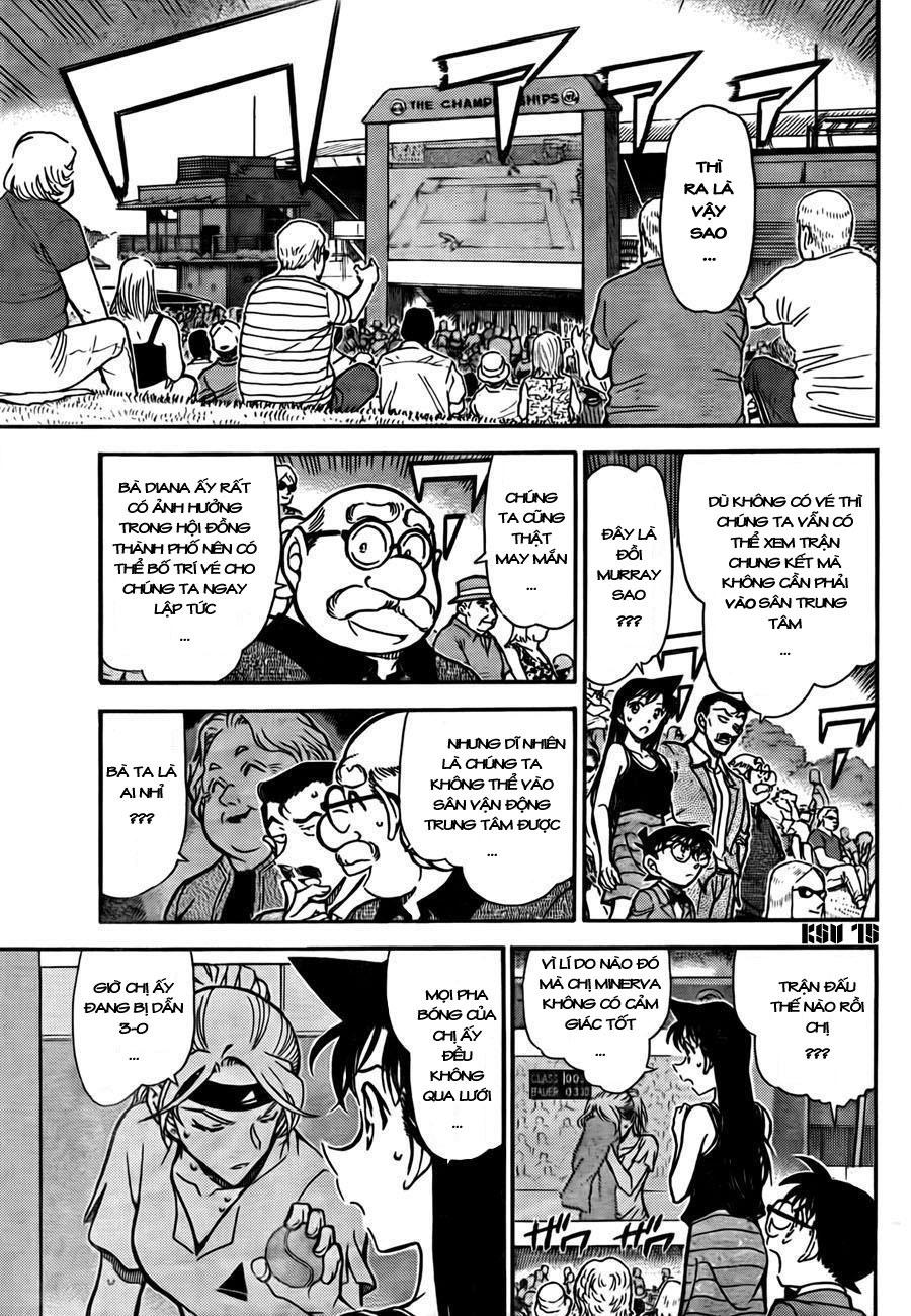 Detective Conan - Thám Tử Lừng Danh Conan chap 748 page 16 - IZTruyenTranh.com