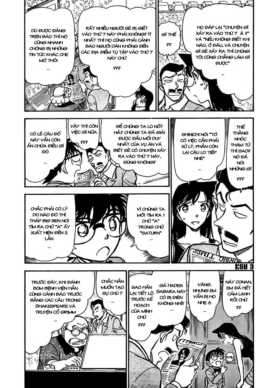 Detective Conan - Thám Tử Lừng Danh Conan chap 748 page 4 - IZTruyenTranh.com
