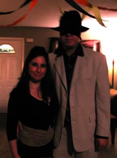 julia finucane and husband in halloween costumes