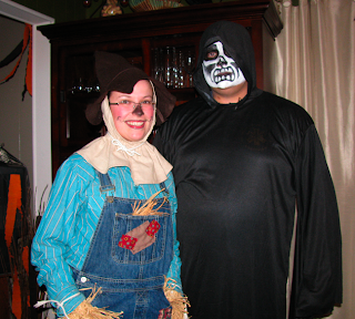 friends of julia finucane dressed in halloween costumes