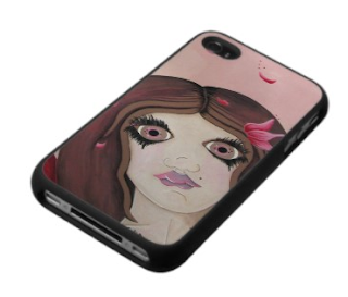 fairy portrait melissa by julia finucane on an iphone case