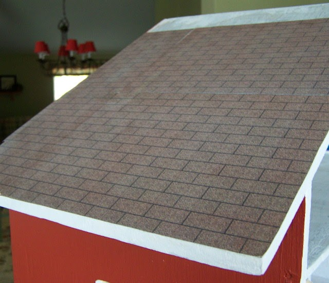 Roofing With Printables Five Dollar Dollhouse