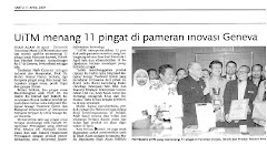 News in Utusan Malaysia 11 April 2009