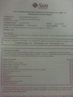Sun Certified Business Component Developer (EJB)