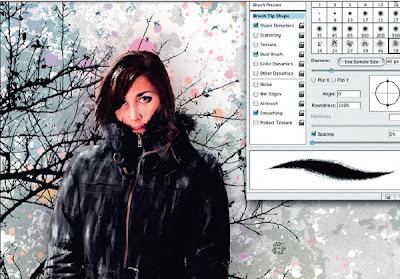 обработка на снимка за колаж