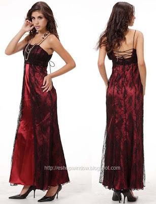 бална рокля от дантела