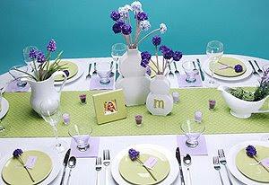 Аранжировка на маса за гости