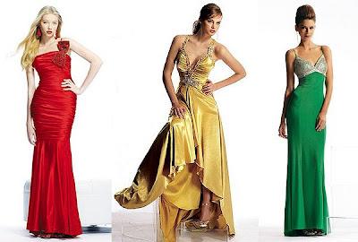 Дълги абитуриентски рокли