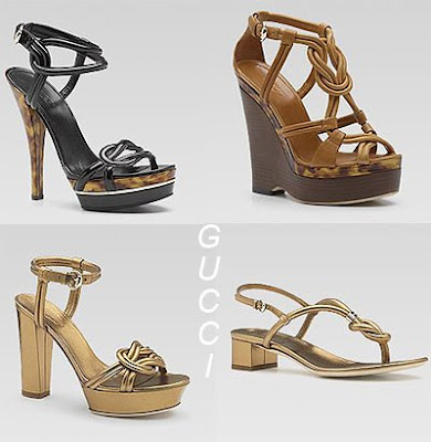 дамски сандали на Gucci