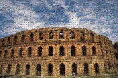 мозайка с фотошоп
