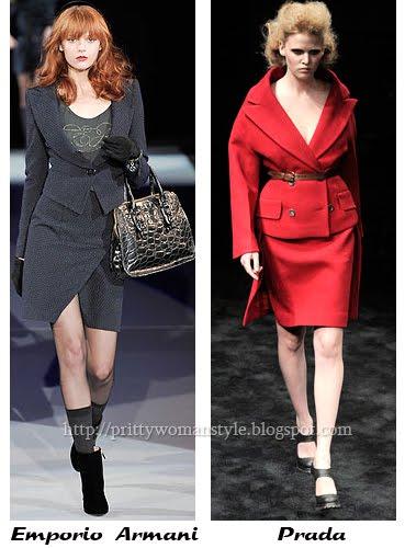 Дамски костюми сако и пола