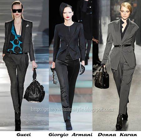 Ежедневни дамски костюми - сако с панталон