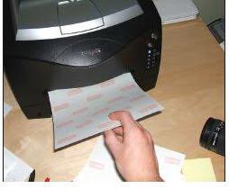 отпечатване на щампа