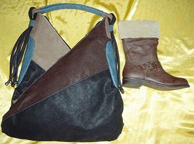 чанта пачуърк с ботуши