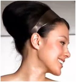 easy evening hairstyle