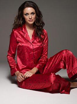 пижама от сатен